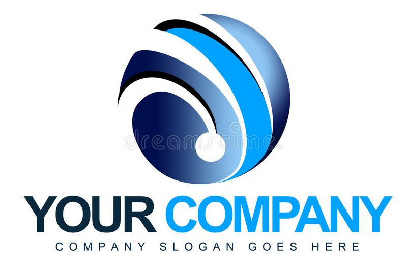 3D Sphere Logo Royalty Free Stock Photos