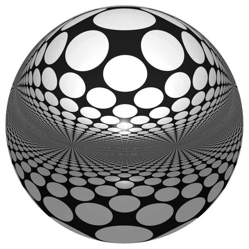 3D SPHERE WITH REFLECTIONS