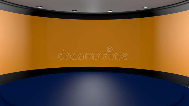 Download 3d stage stock illustration. Image of gray, program, effects - 29608896