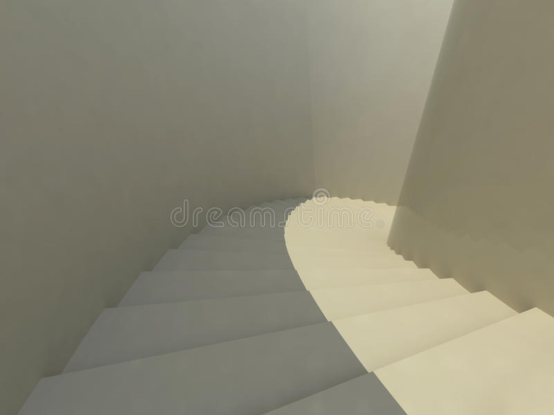 3d Staircase Royalty Free Stock Photography