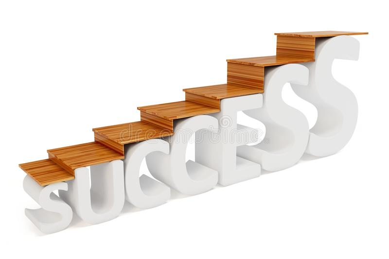 Download 3d stairs way to success stock illustration. Image of clipart - 20580565