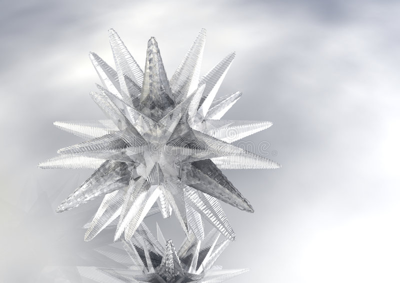 Download 3D Star Of Ice Stock Image - Image: 1815401