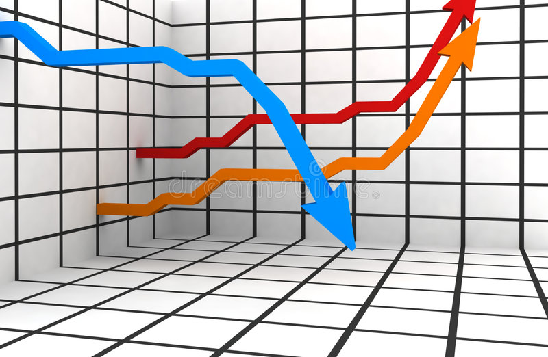 3d statystyki ilustracji
