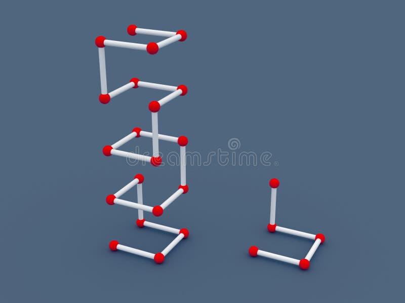 3d structuur vector illustratie