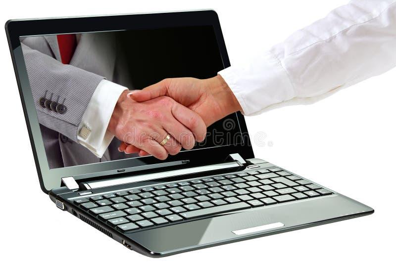 Download 3d symbol of internet deal stock image. Image of agreement - 22823561