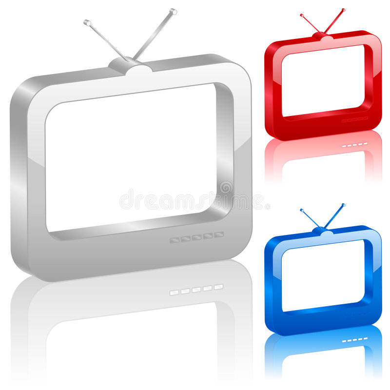 3d symbol tv
