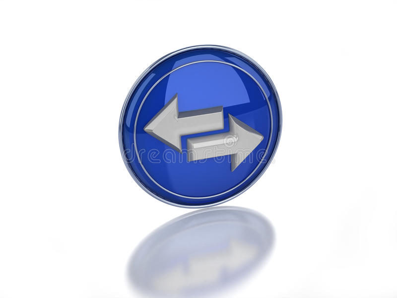 Download 3d Sync Glossy Icon Stock Photo - Image: 10933970