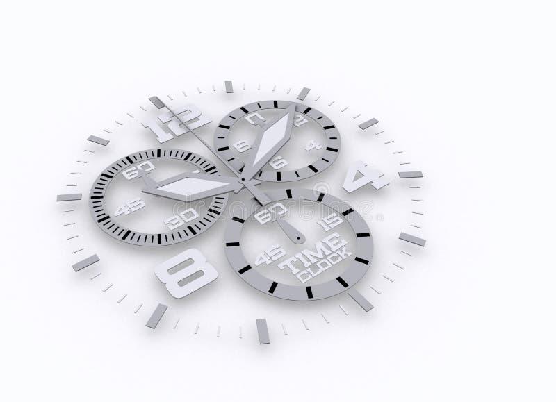 3d szczegółu zegarek ilustracji