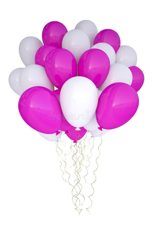 3d szybko się zwiększać urodzinowej dekoraci urodzinowego przyjęcia zdjęcia stock