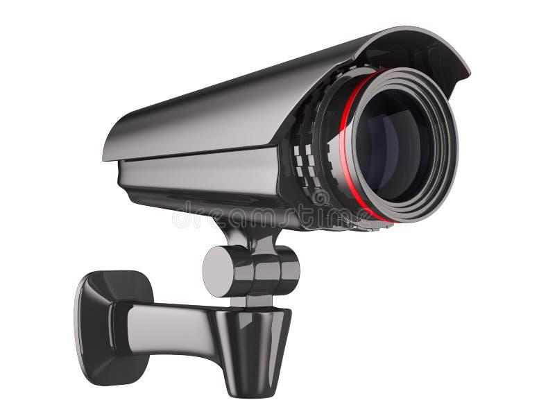 3d tła kamery odosobniony ochrony biel royalty ilustracja