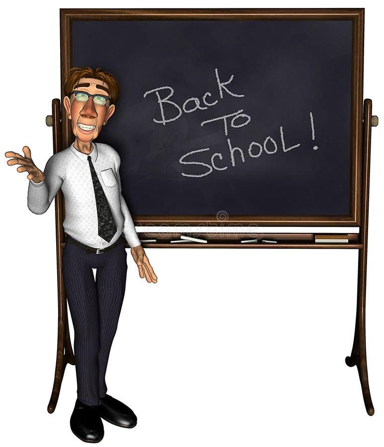 Download 3d Teacher Teaching 5 Cartoon Stock Illustration - Image: 14464634