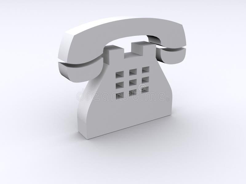 3d telefon ilustracja wektor
