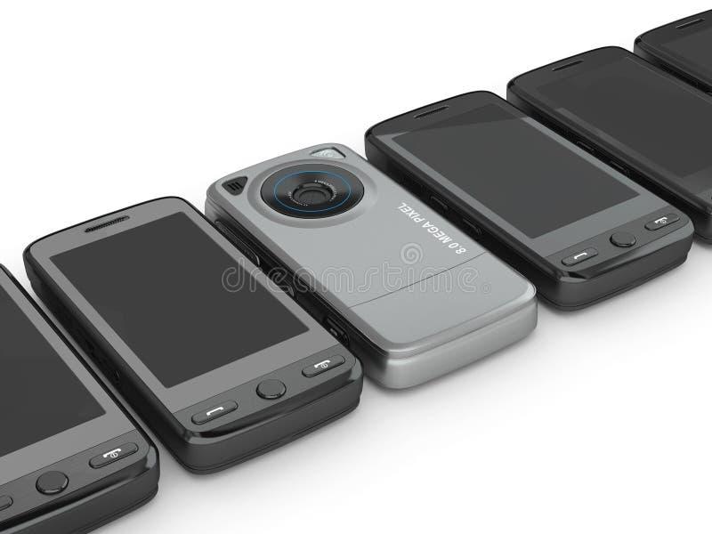 3d telefon komórkowy ilustracja wektor