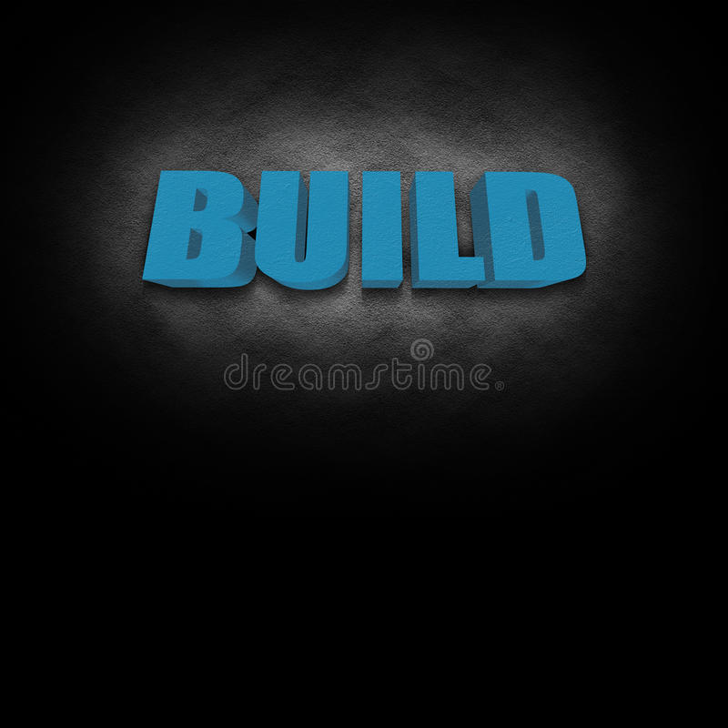 Download 3D Text Concept Build Royalty Free Stock Photo - Image: 22708505