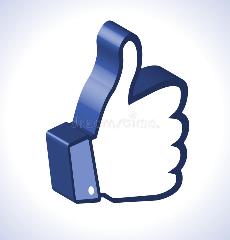 Download 3d Thumb Up Stock Photo - Image: 26569810