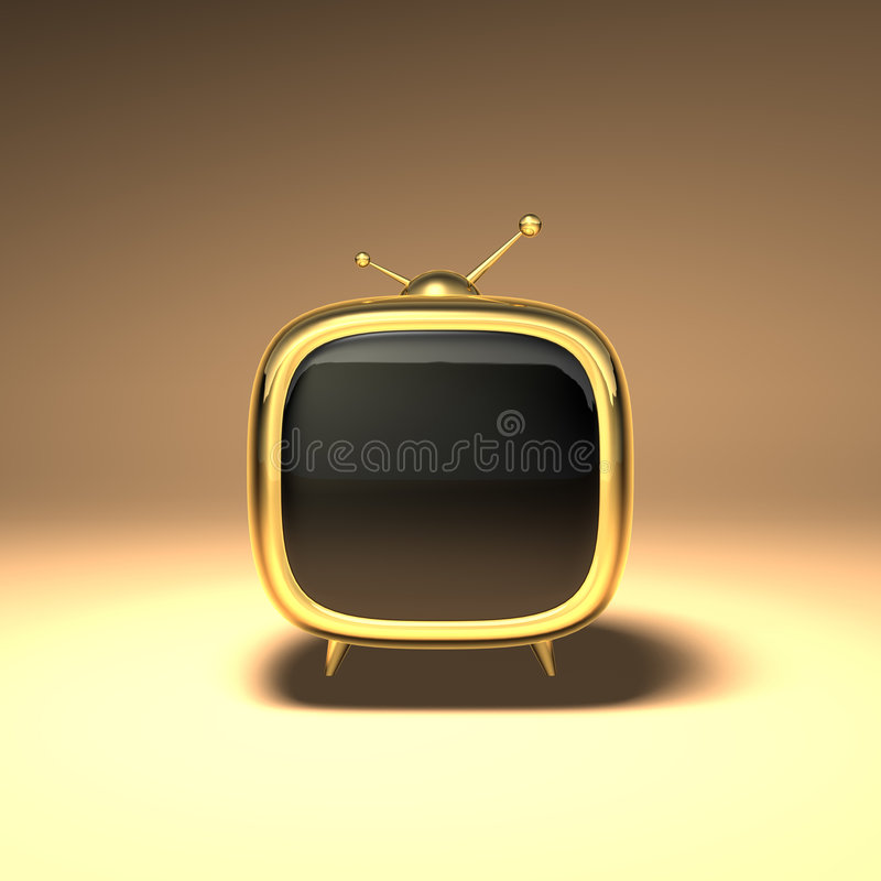 3D Toon TV libre illustration