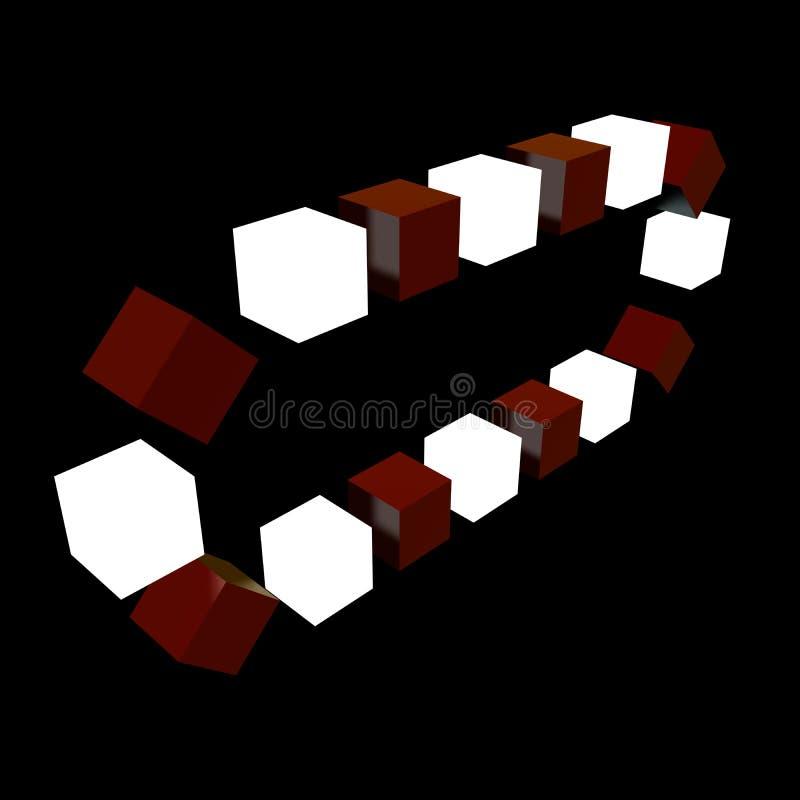 3D transportband. royalty-vrije stock foto's