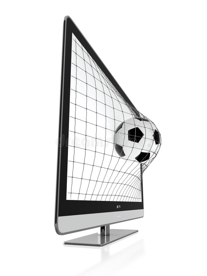 3D TV ilustracji