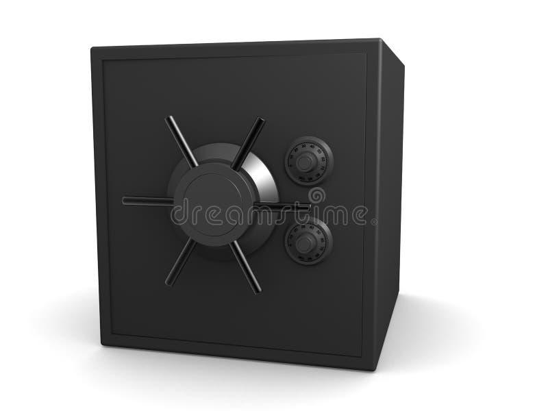 3d vault stock illustration