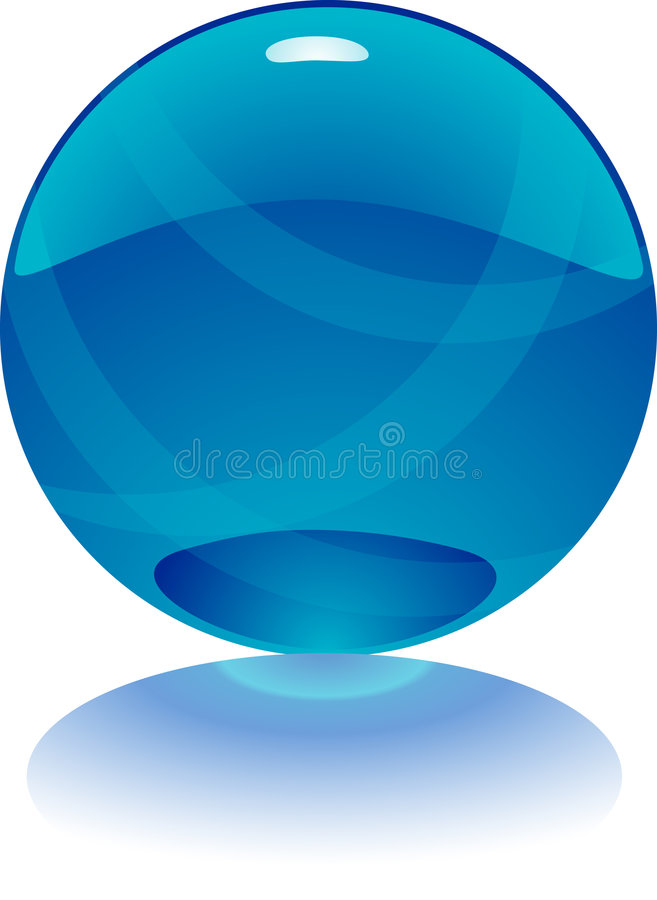 Free 3d Vector Purple Sphere Royalty Free Stock Photos - 7201148