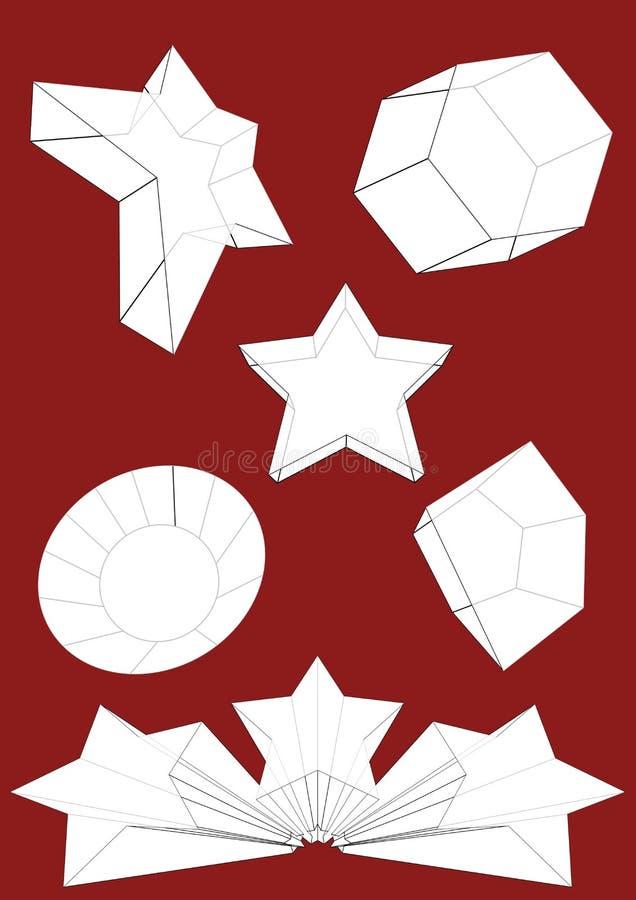 3D vectorreeks van Objecten