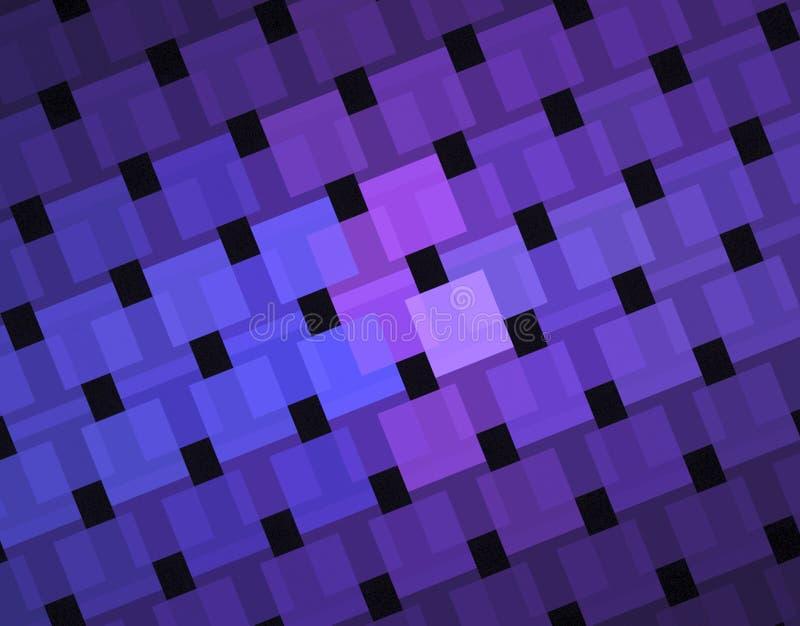 3D Vierkanten vector illustratie
