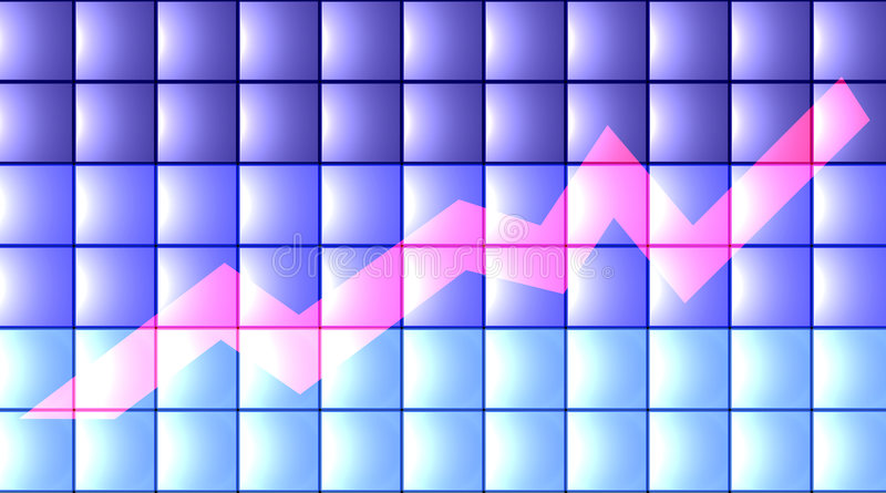 Download 3D vlakke Grafiek - stock illustratie. Illustratie bestaande uit render - 29646