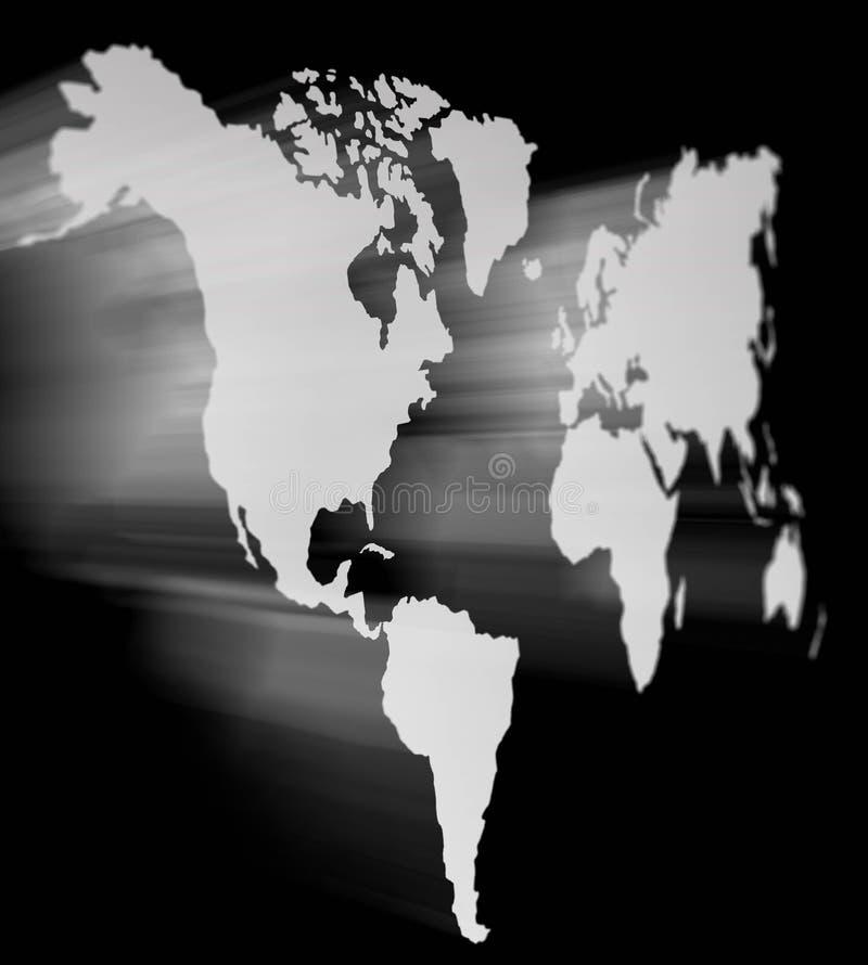 3D Wereld royalty-vrije illustratie
