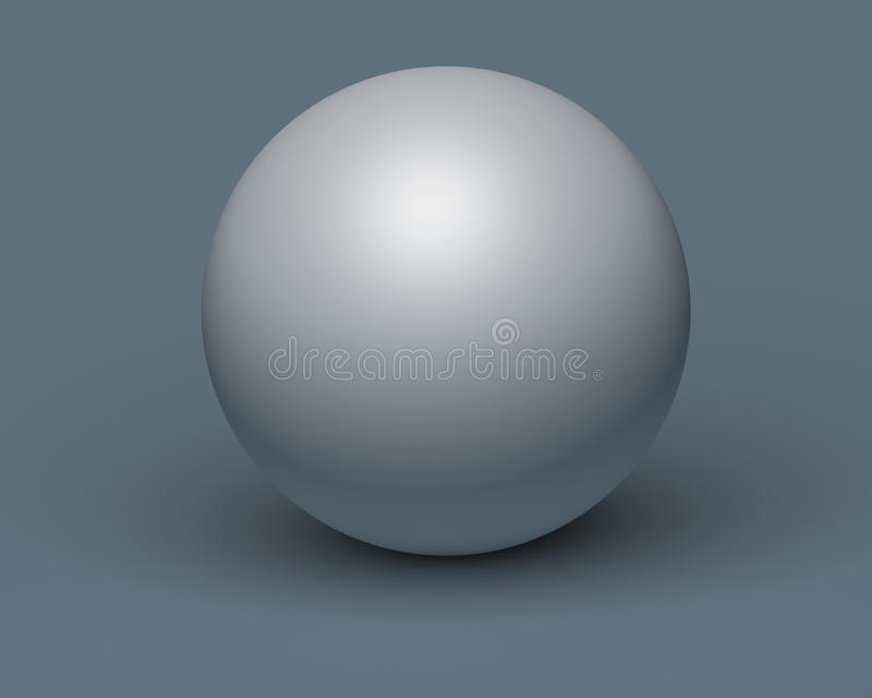 3d white sphere on background royalty free stock photos