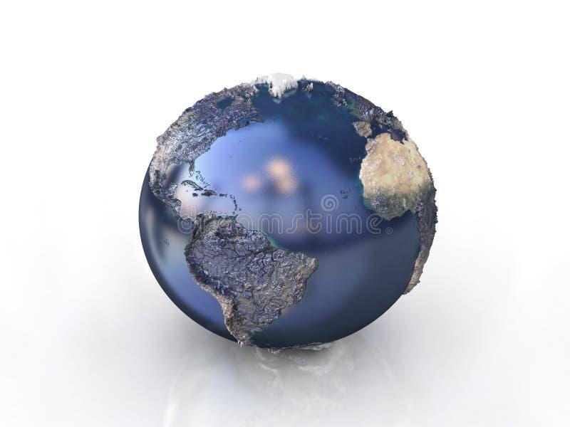 3d world symbol stock images