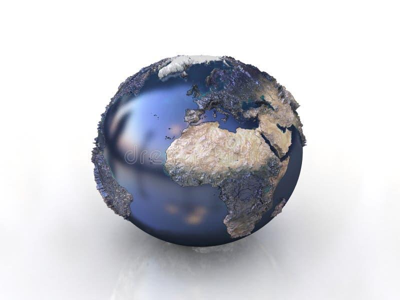 3d world symbol royalty free stock image