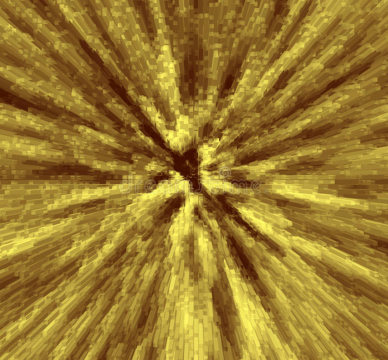 3d yellow background