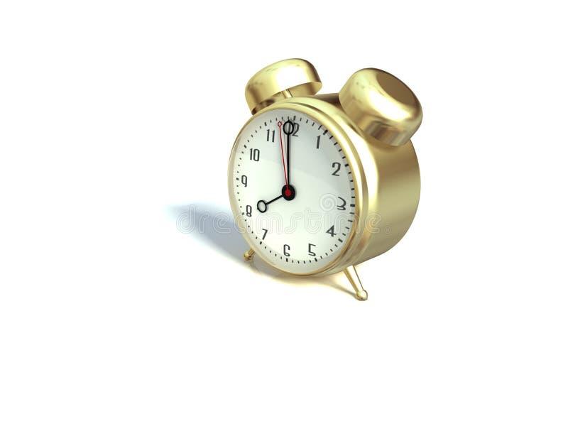 3d zegar obrazy royalty free