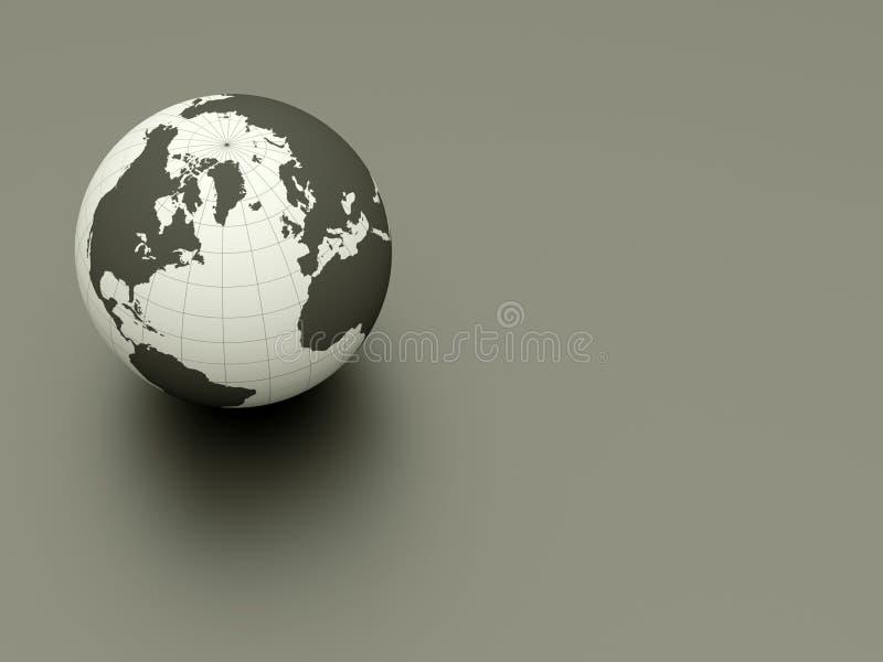 3d ziemia ilustracja wektor