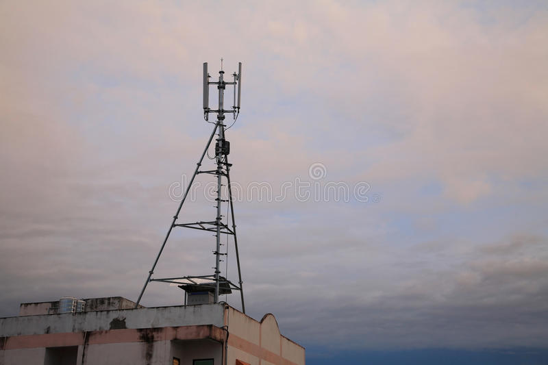 Download 3G phone antenna tower stock image. Image of generation - 26557877