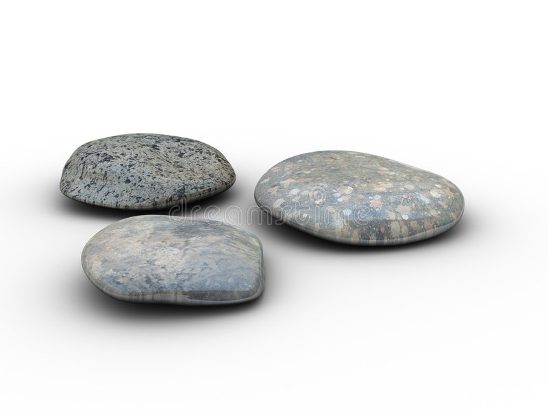3stones royalty free stock images