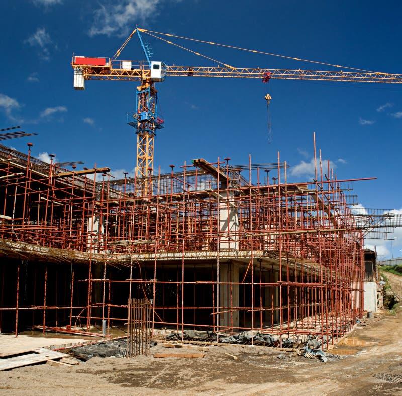 4下建造场所 免版税图库摄影