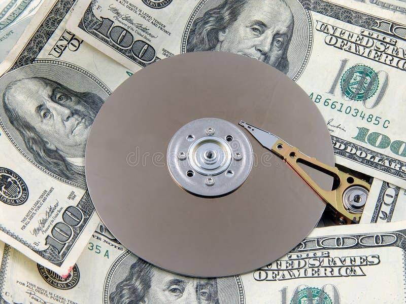 4个光盘临时 免版税库存图片