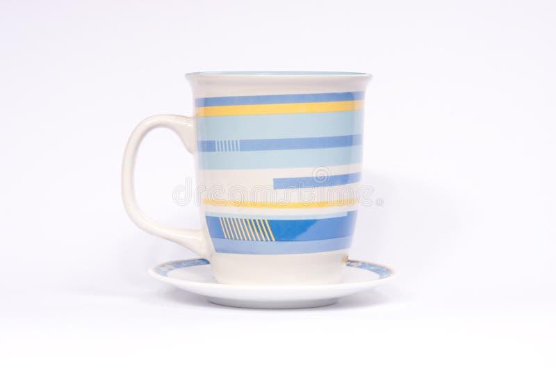 4个咖啡杯 免版税库存图片