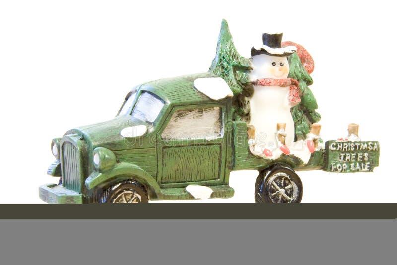 4个圣诞节销售额结构树 库存照片