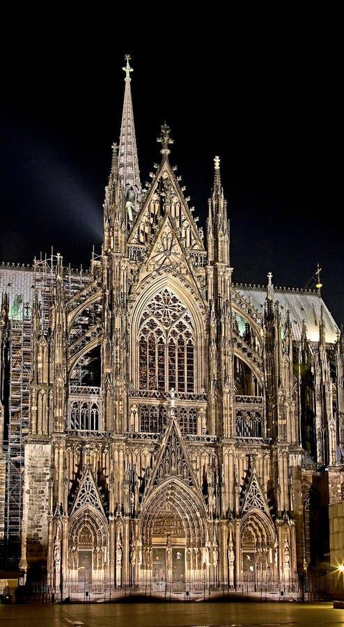 4个大教堂科隆香水 库存图片