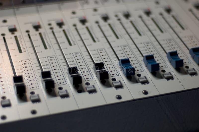 4个控制台混合 免版税图库摄影