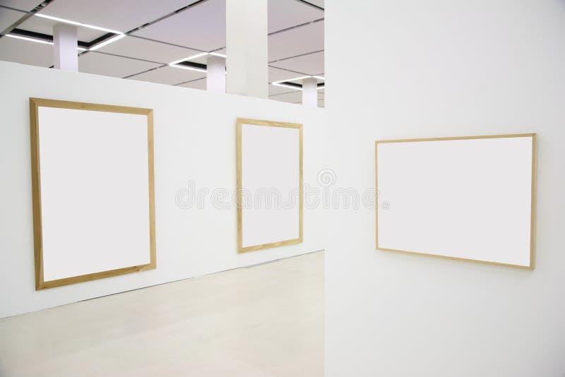 4个框架大厅 免版税库存照片