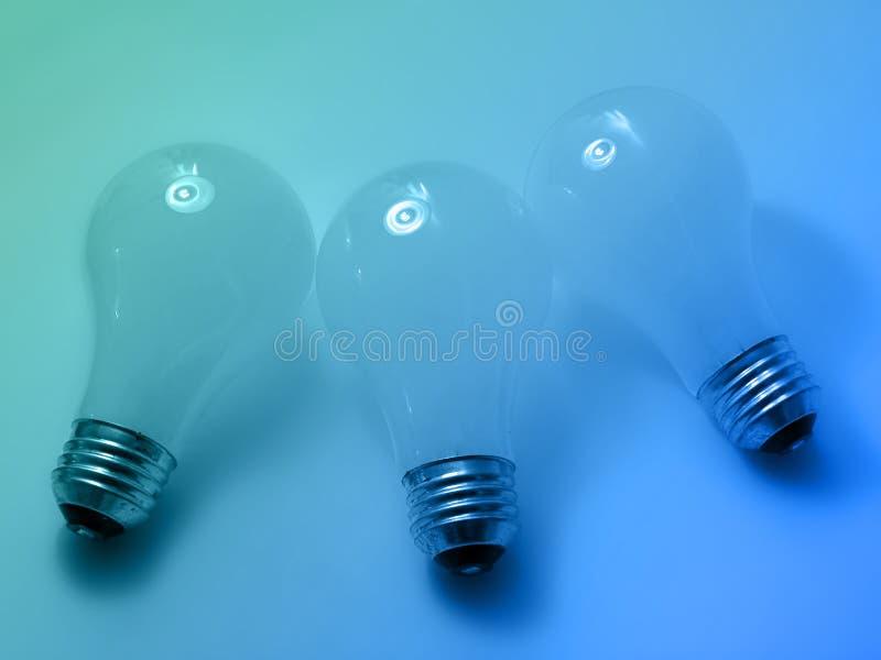4个电灯泡 免版税库存图片