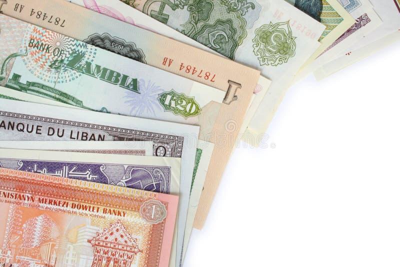 4个组货币 免版税库存图片