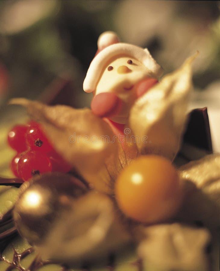 4个蛋糕圣诞节 库存图片