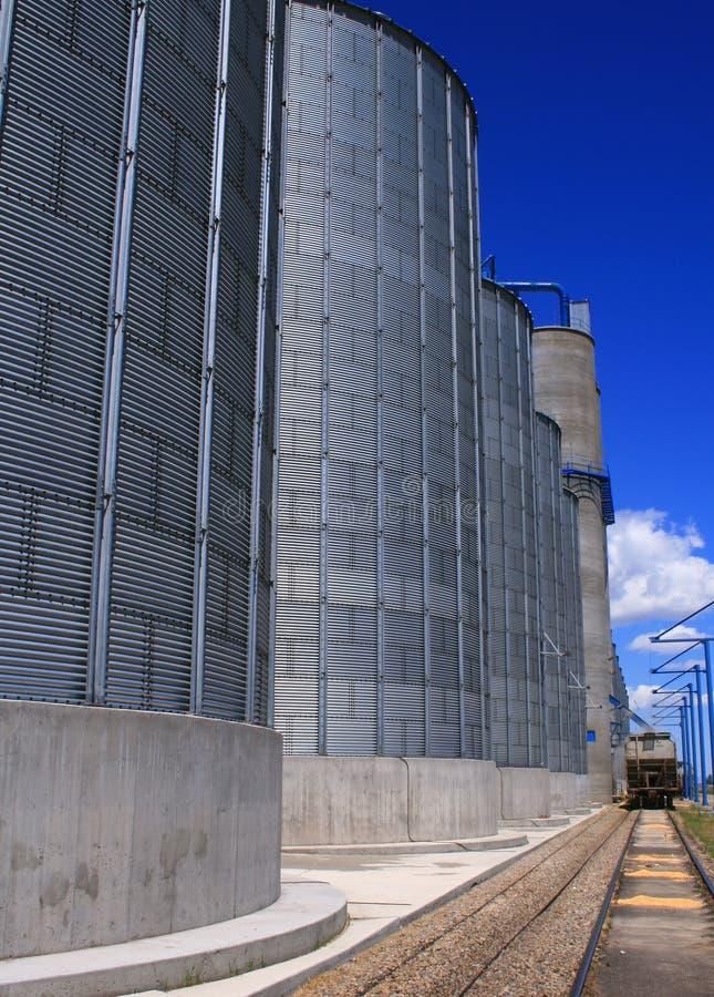 4个谷物爱达荷生产者 库存图片