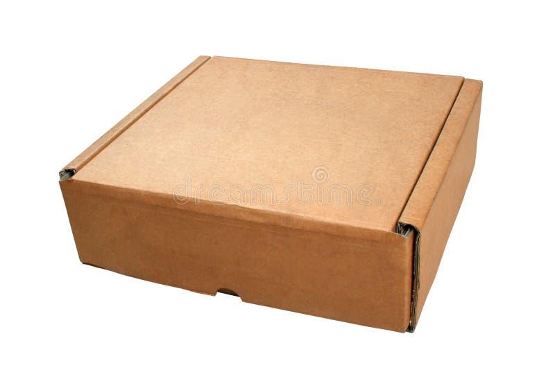 4个配件箱纸板 库存照片