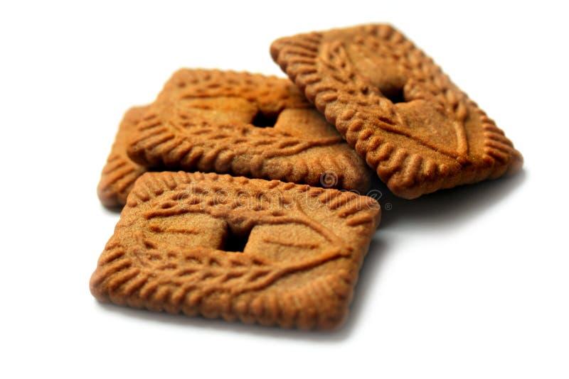 4个饼干 免版税库存照片