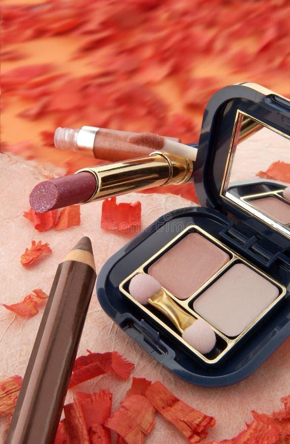 4化妆用品 免版税库存照片
